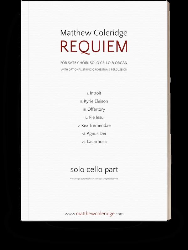 Cello part
